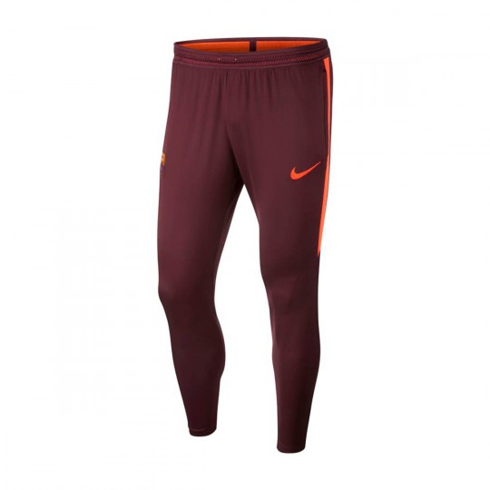 Calças  Nike FC Barcelona Flex Strike 2017-2018 Night maroon-Hyper crimson