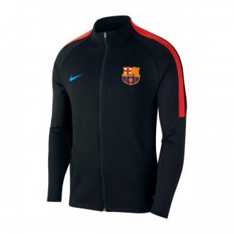 Sweatshirt  Nike FC Barcelona Dry Strike 2017-2018 Black-Soar