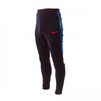 Pantalón largo  Nike FC Barcelona Dry Strike 2017-2018 Black-Soar-University red
