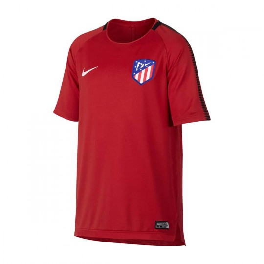 Camisola  Nike Jr Atlético de Madrid Squad 2017-2018 Sport red-Black-White