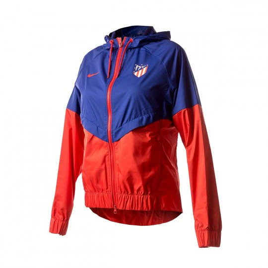 Chaqueta  Nike Atlético de Madrid NSW 2017-2018 Mujer Sport red-Deep royal blue-Sport red