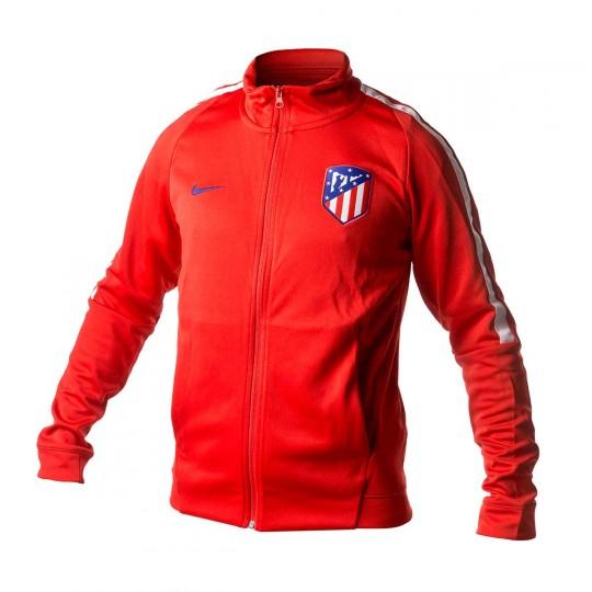 Casaco  Nike Atlético de Madrid NSW 2017-2018 Sport red-White-Deep royal blue