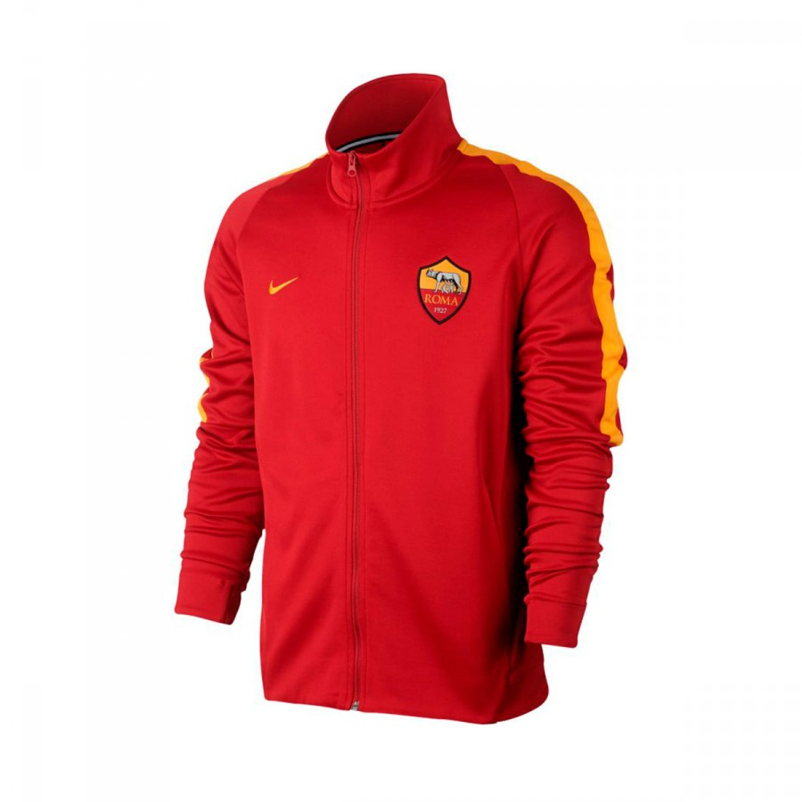 meet ed796 9d725 Jacket Nike AS Roma NSW 2017-2018 Team crimson-University gold - Football  store Fútbol Emotion