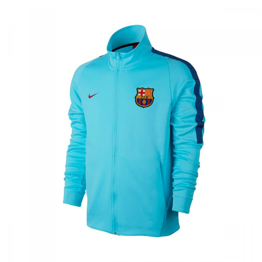 Blue Fc Barcelona 2018 Nike Royal Polarized Deep 2017 Chaqueta Nsw a0qpwHx
