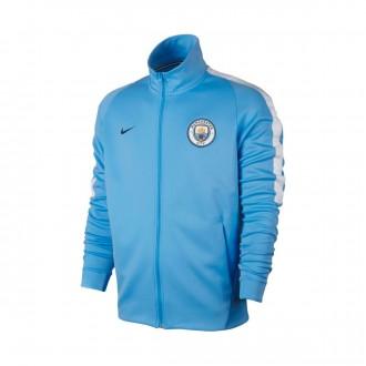 Casaco  Nike Manchester City FC NSW 2017-2018 Field blue-White-Midnight navy
