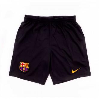 Pantalón corto  Nike FC Barcelona Stadium Portero 2017-2018 Niño Black-University gold
