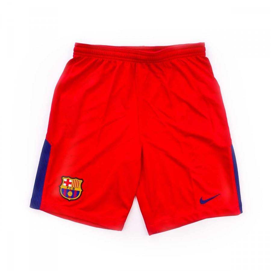 Pantalón corto Nike FC Barcelona Stadium Portero Primera Equipación  2017-2018 Niño University red-Deep royal blue - Leaked soccer 1fefc967695b3