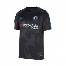 best service fd33d 7f1a7 Camiseta Chelsea FC Stadium SS Tercera Equipación 2017-2018  Anthracite-Omega blue
