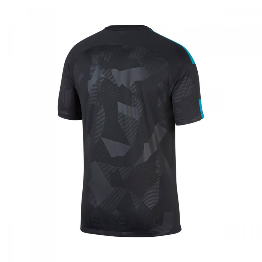 Camiseta Nike Chelsea FC Stadium SS Tercera Equipación 2017-2018  Anthracite-Omega blue - Soloporteros es ahora Fútbol Emotion 7fefe3fd0deb9