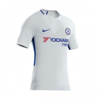 33d47071dc Camisola Nike Chelsea FC Stadium SS Segundo Equipamento 2017-2018 Pure  platinum-Rush blue