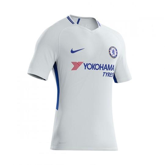 Camiseta  Nike Chelsea FC Stadium SS Segunda Equipación 2017-2018 Pure platinum-Rush blue