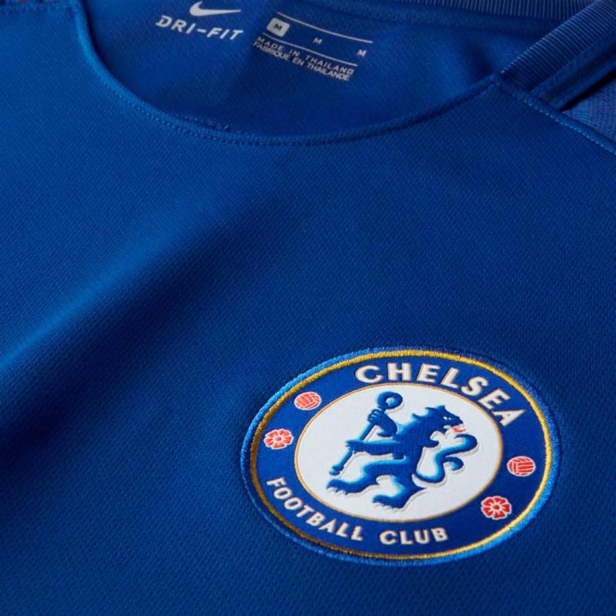 0df7ce6e0d6 Jersey Nike Chelsea FC Stadium SS Home 2017-2018 Rush blue-White - Tienda  de fútbol Fútbol Emotion