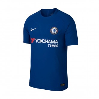 Camisola  Nike Chelsea FC Vapor Match SS Principal 2017-2018 Rush blue-White