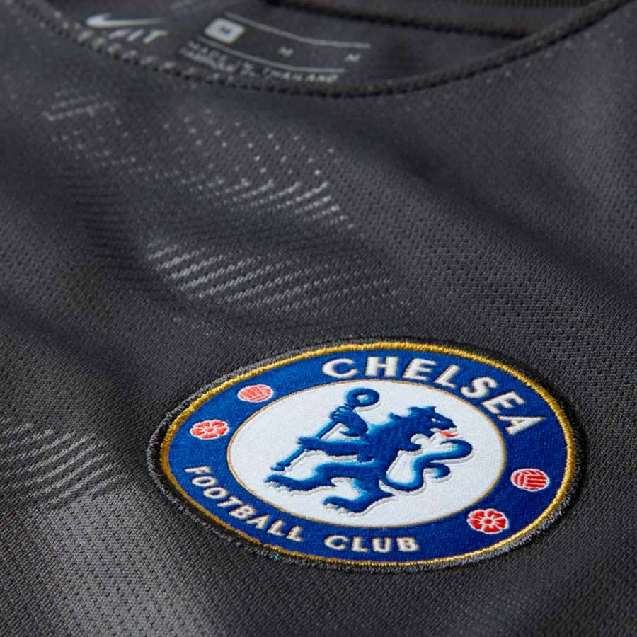 f7ac1abea4442 Jersey Nike Kids Chelsea FC Stadium SS 3rd 2017-2018 Anthracite-Omega blue  - Football store Fútbol Emotion