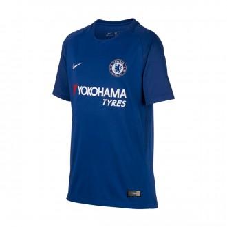 Camisola  Nike Jr Chelsea FC Stadium SS Principal 2017-2018 Rush blue-White
