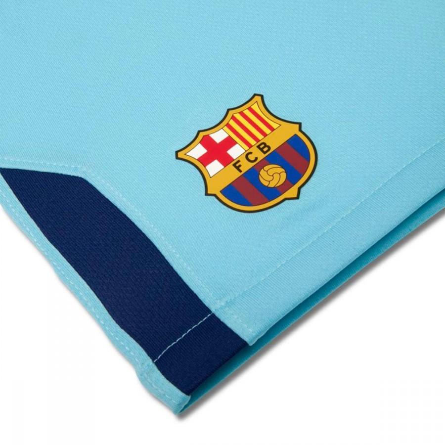 98af07b54 Kit Nike Infant FC Barcelona Away 2017-2018 Polarized blue-Deep royal blue  - Football store Fútbol Emotion