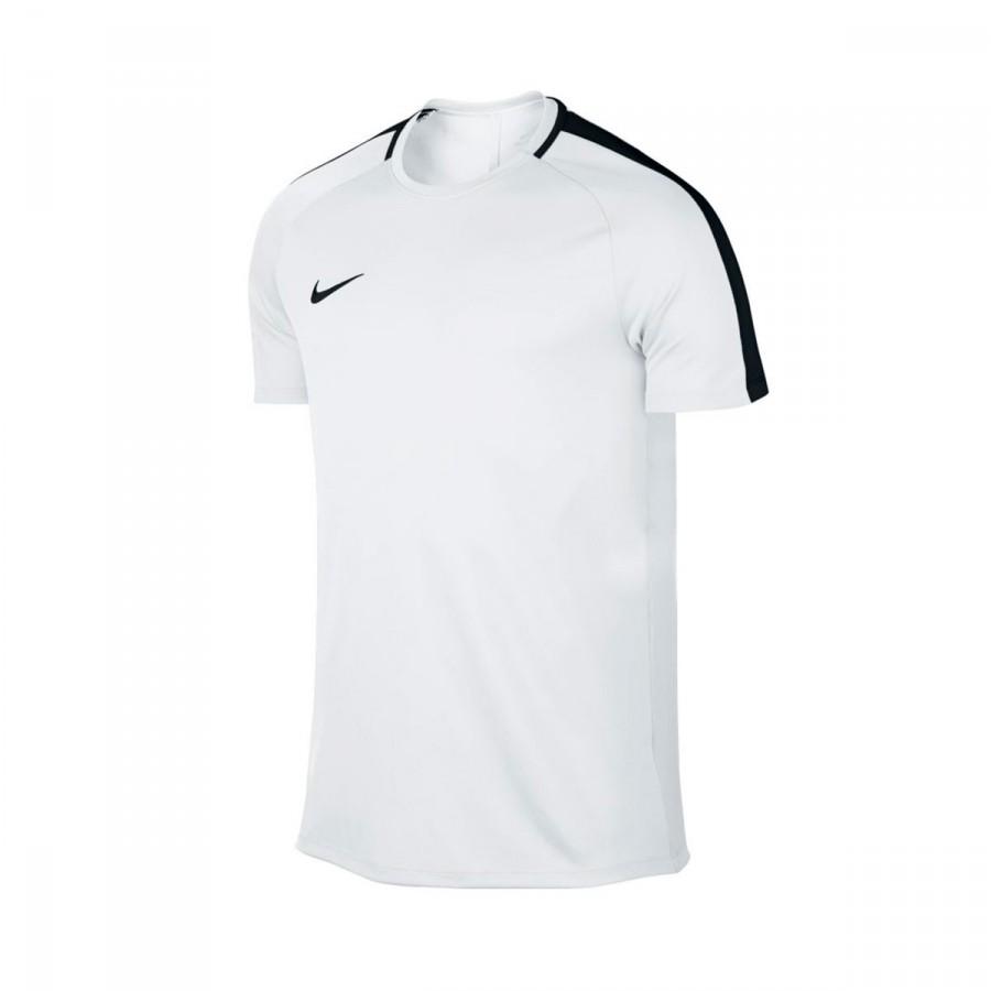 c76ce0b57f1c Jersey Nike Dry Academy Football White-Black - Tienda de fútbol ...