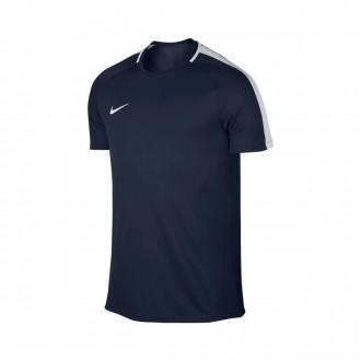 Camisola  Nike Dry Academy Football Obsidian-White