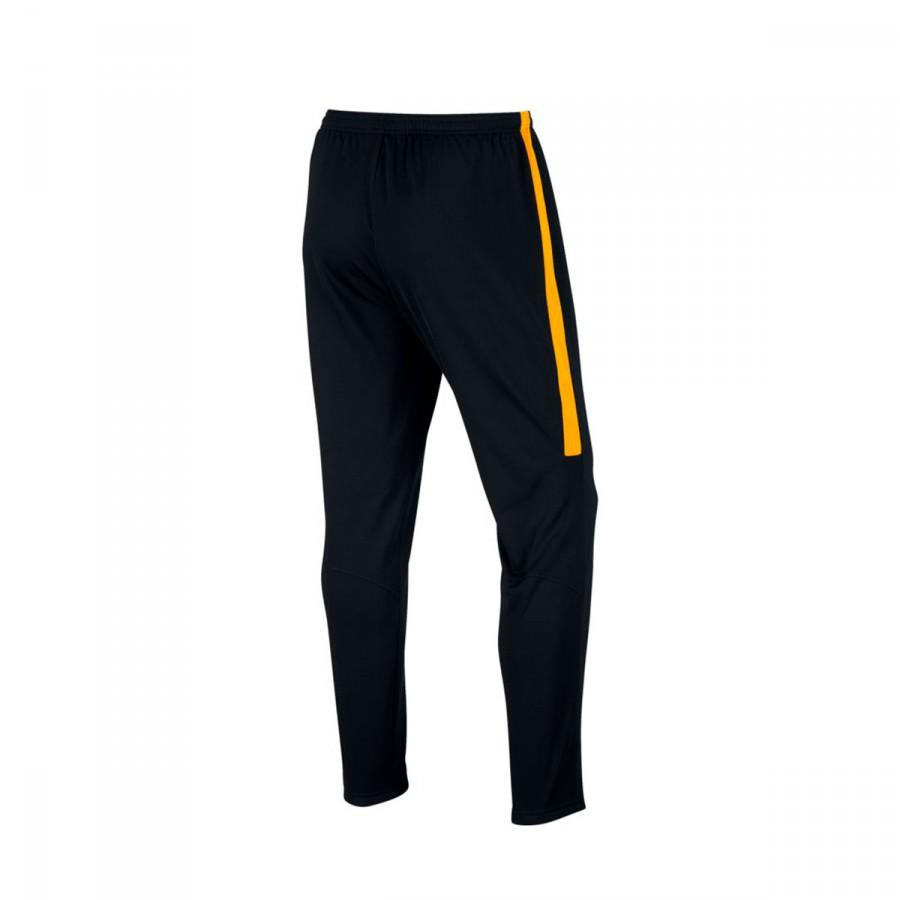 a4a3cf6093cb Long pants Nike Dry Academy Football Black-Laser orange - Football ...