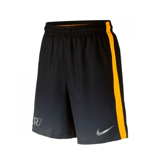 Pantalón corto  Nike CR7 Squad Football Niño Dark grey-Laser orange-Metallic silver