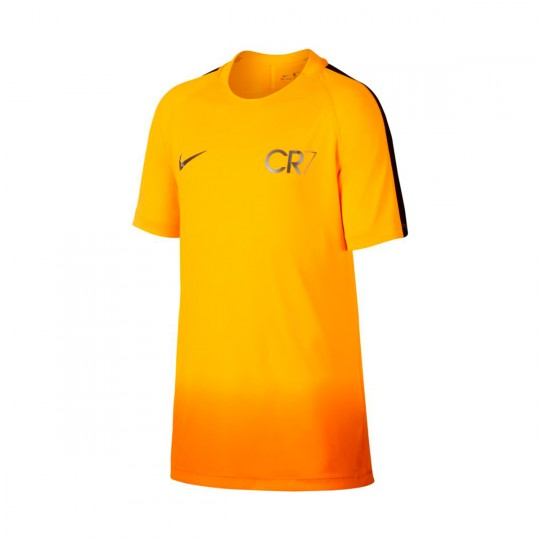 Camisola  Nike Jr CR7 Dry Squad Football Laser orange-Metallic silver