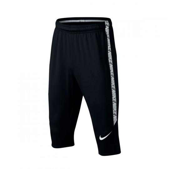 Calças Pirata  Nike Jr Dry Squad Football Black-White