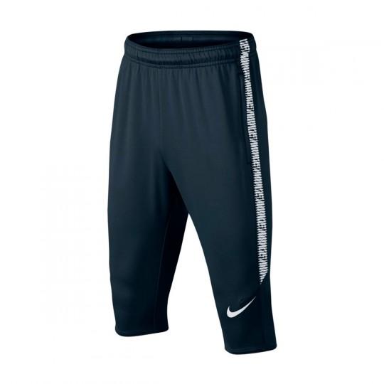 Calças Pirata  Nike Jr Dry Squad Football Armory navy-White