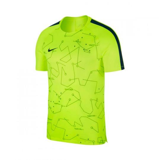 Camiseta  Nike Dry Squad Football Neymar Volt-Armory navy