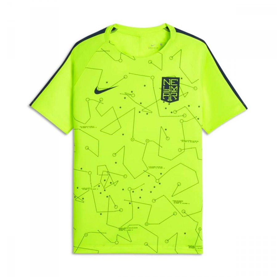 brand new 3e5b7 78b42 Camiseta Dry Squad Football Neymar Niño Volt-Armory navy