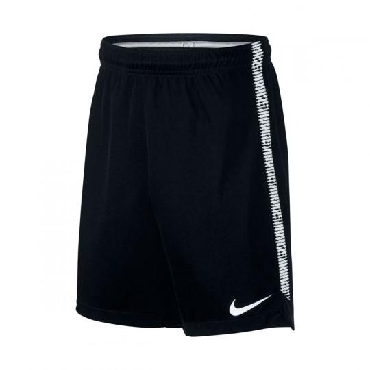 Pantalón corto  Nike Squad Football Niño Black-White