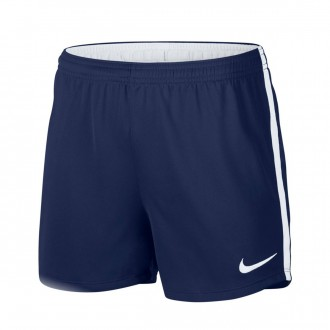 Short  Nike Dry Academy Football Mujer Binary blue-White
