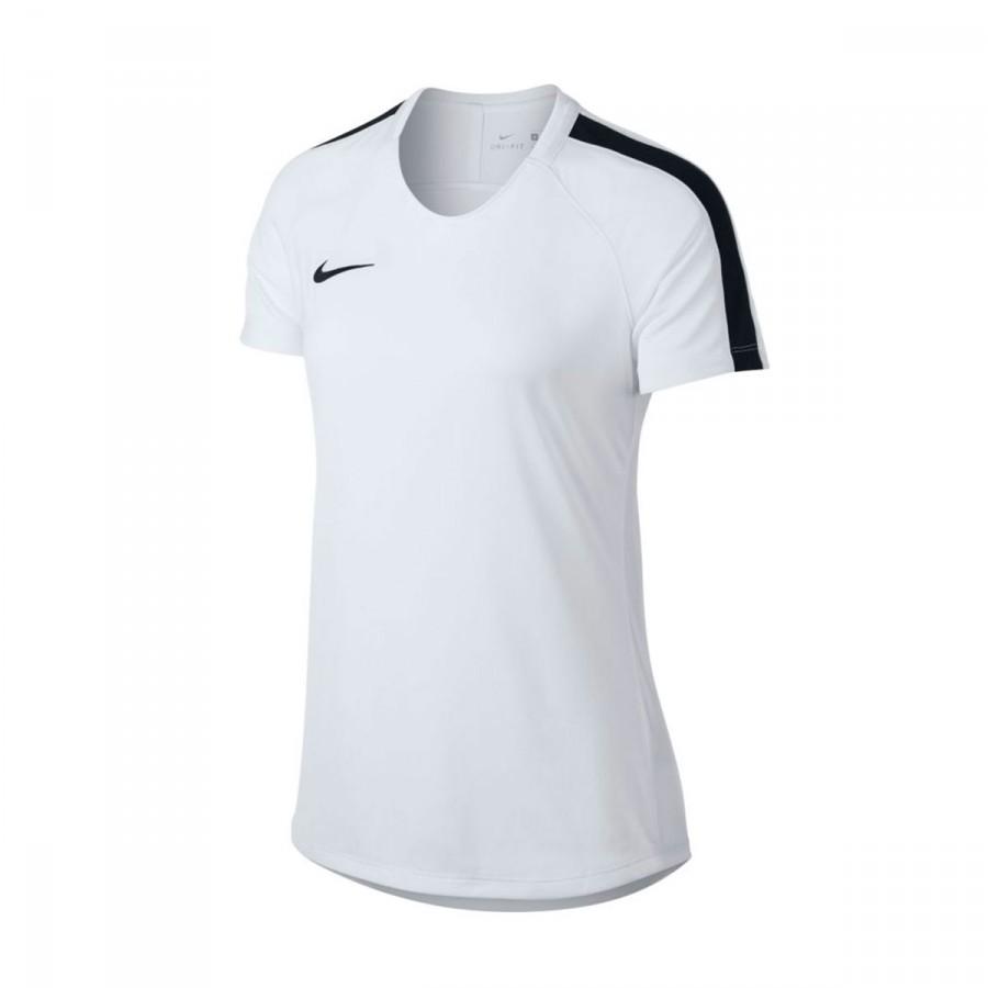 bbc4d34e Playera Nike Dry Academy Football Mujer White-Black - Tienda de fútbol  Fútbol Emotion