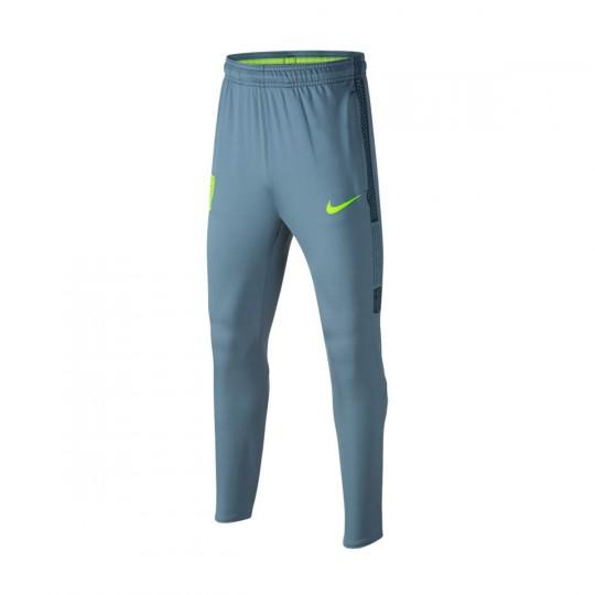 Calças  Nike Jr Dry Squad Football Neymar Jr Armory blue-Armory navy-Volt