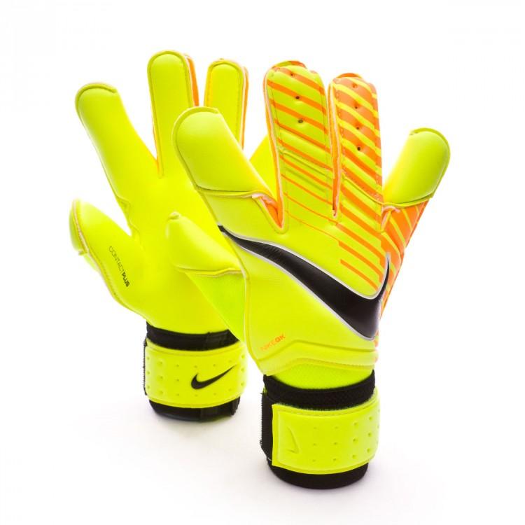 328bb5699d98a Guante de portero Nike Vapor Grip 3 Volt-Laser orange-Black - Tienda ...
