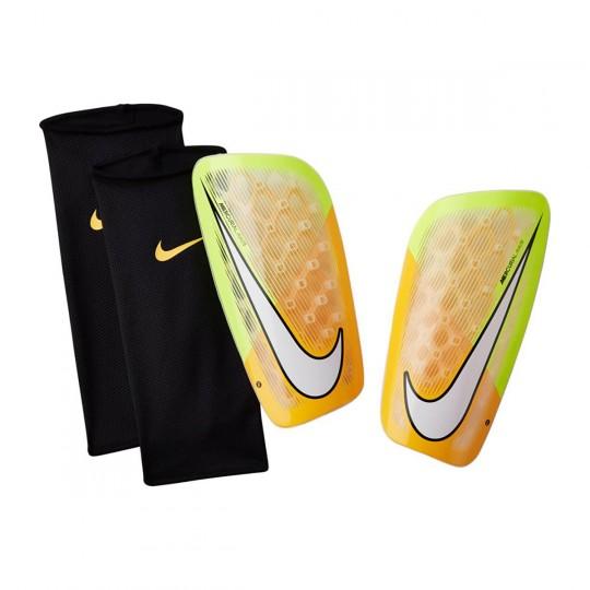 Caneleira  Nike Mercurial Flylite Laser orange-Volt-White