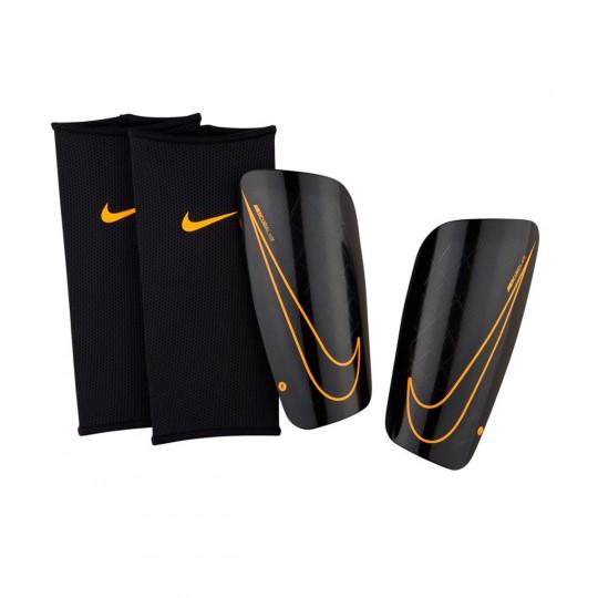 Espinillera  Nike Mercurial Lite Black-Laser orange