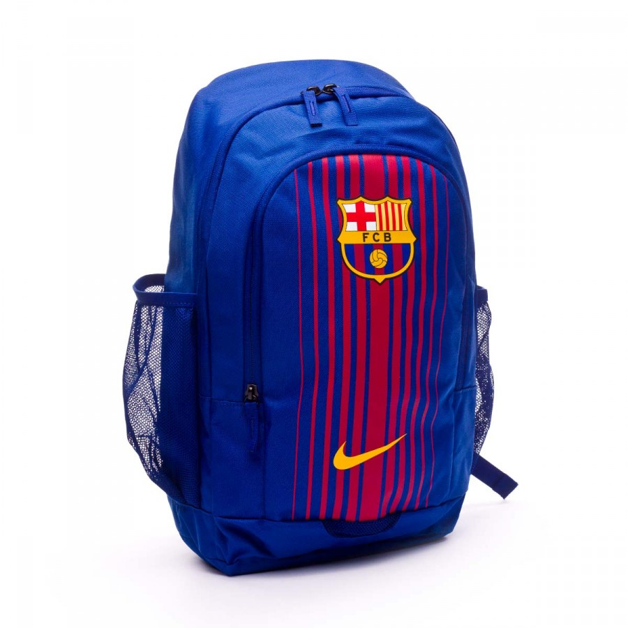 d97589b46 Mochila Nike FC Barcelona Stadium 2017-2018 Deep royal-University gold -  Tienda de fútbol Fútbol Emotion