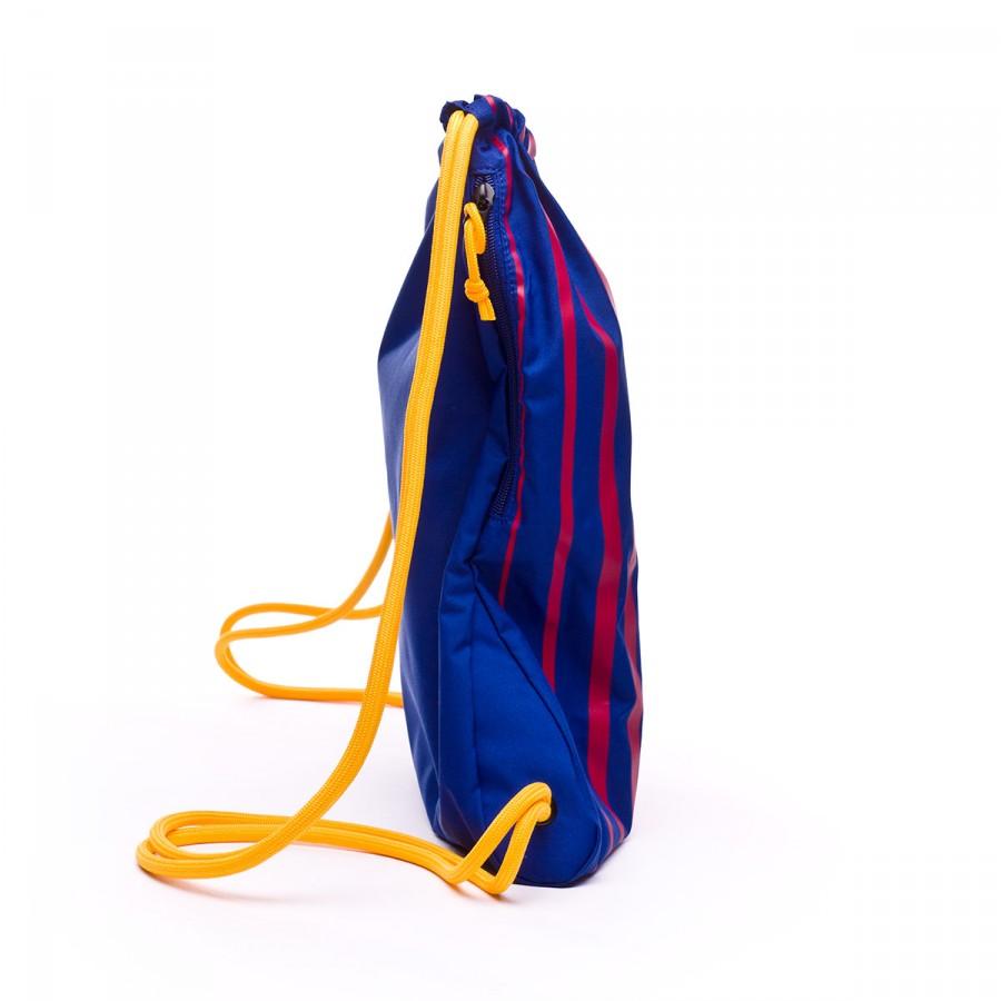 Bag Nike Gymsack FC Barcelona Stadium 2017-2018 Deep royal-University gold  - Soloporteros es ahora Fútbol Emotion d9f8c67494bee