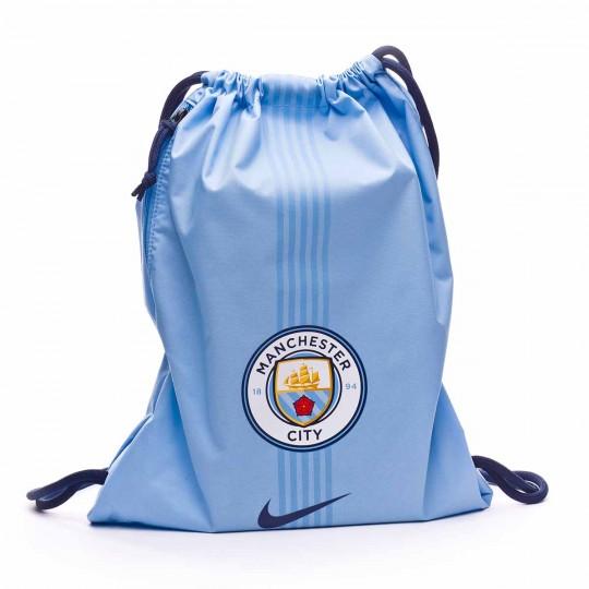 Saco  Nike GymSack Manchester City FC Stadium 2017-2018 Field blue-Midnight navy