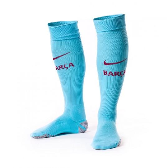 Meias  Nike FC Barcelona Match Alternativo 2017-2018 Polarized blue-Deep royal blue-Noble red