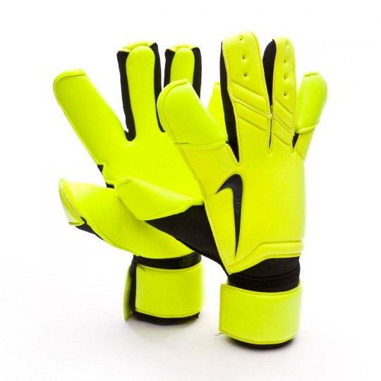 Luvas  Nike Vapor Grip 3 Reverse Stitch Official Competition Volt-Black
