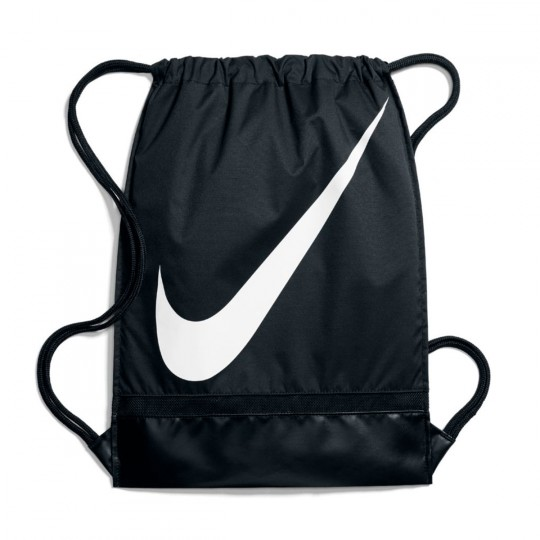Susurro comunidad Mirar fijamente  Bag Nike Gym Sack Football Black-White - Football store Fútbol Emotion