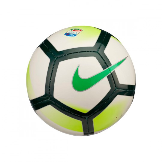Balón  Nike Pitch Serie A 2017-2018 White-Red-Pro green