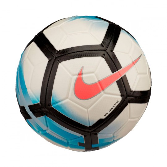 Bola de Futebol  Nike Strike White-Blue orbit-Black-Hot punch