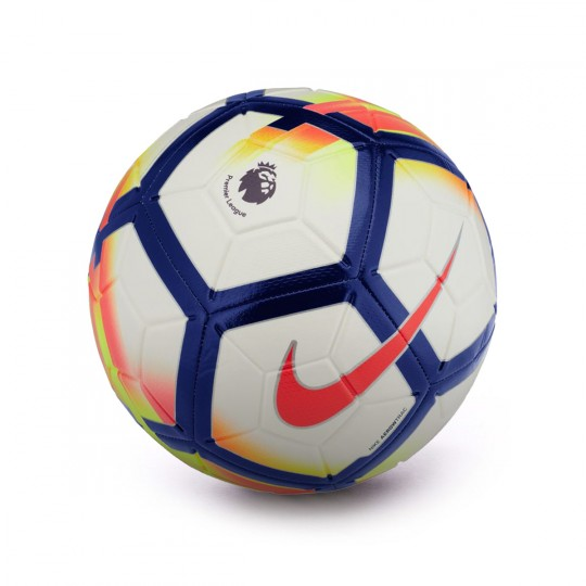 Balón  Nike Strike Premier League 2017-2018 White-Crimson-Deep royal