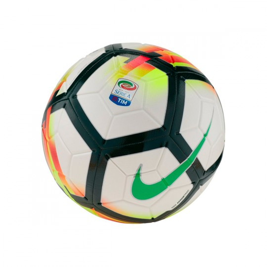 Balón  Nike Strike Serie A 2017-2018 White-Red-Pro green