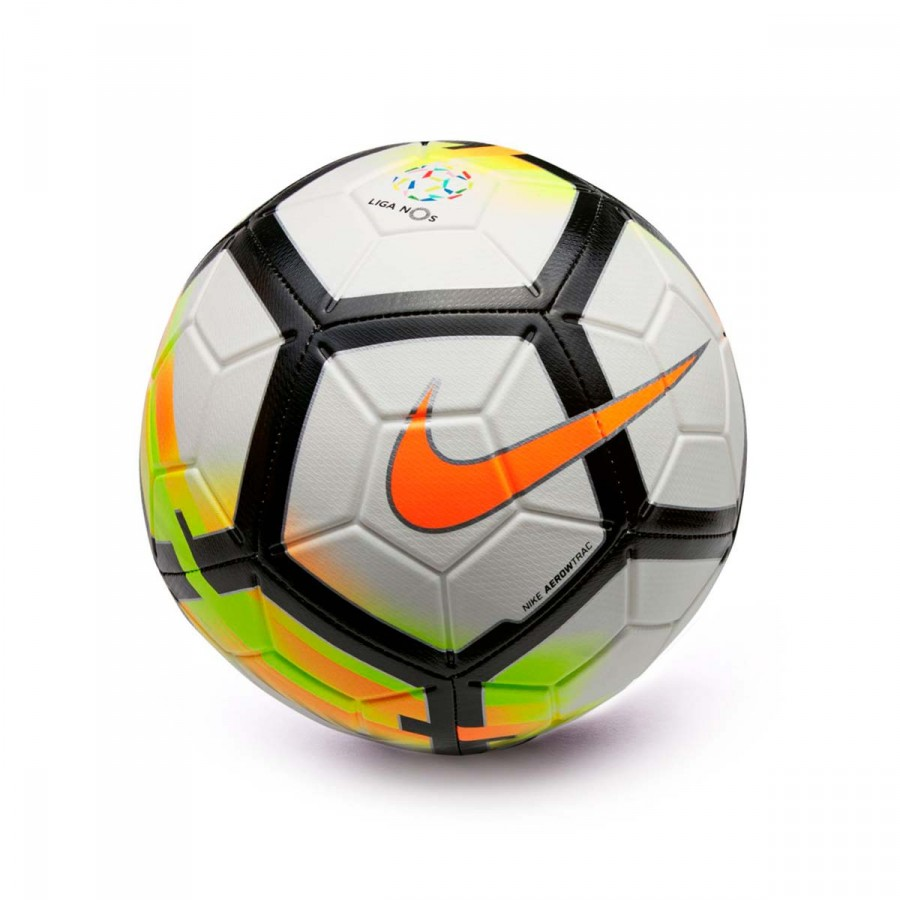 Bola de Futebol Nike Strike Liga NOS 2017-2018 White-Laser orange ... 70fde12631acc