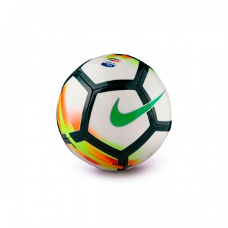 Bola de Futebol  Nike Mini Bola Serie A White-Red-Pro green