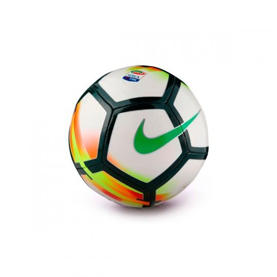Balón  Nike Mini Skills Serie A White-Red-Pro green
