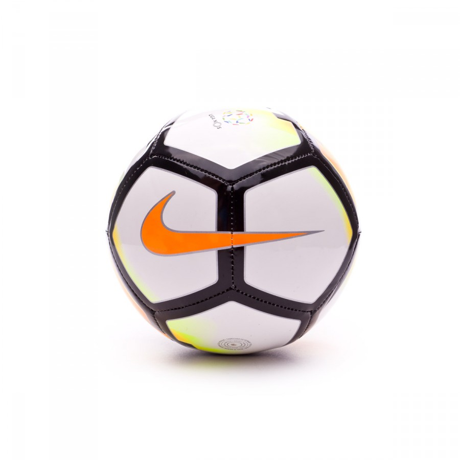 Ball Nike Mini Skills White-Laser orange-Black - Football store ... 4daf5973274